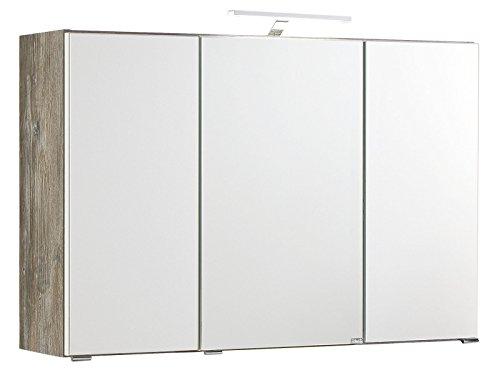 #3D Spiegelschrank Bad Badmöbel Schrank Spiegel Badezimmerschrank#