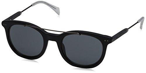 Tommy Hilfiger Unisex-Erwachsene Sonnenbrille TH 1348/S 8A, Schwarz (Black Ruthenium), 49 Preisvergleich