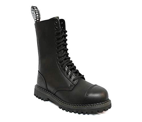 Grinders  Herald CS, Herren Stiefel Schwarz schwarz 14 Eyelet Steel Toe Boot