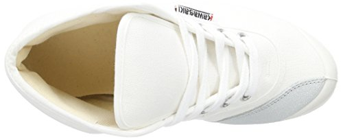 Kawasaki Rainbow Basic Sneakers Alte Unisex Per Adulto Bianco (bianco, 01)