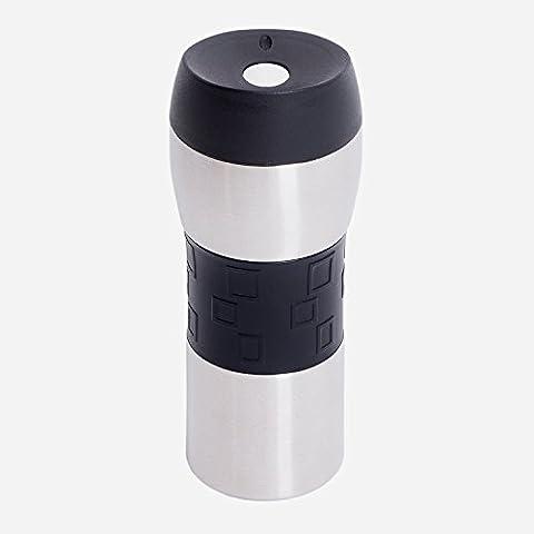 Tasse en acier inoxydable thermique Coffee to go, Gobelet Isotherme pour, un high-quality Thermos Travel Mug, 400ml, entièrement étanche