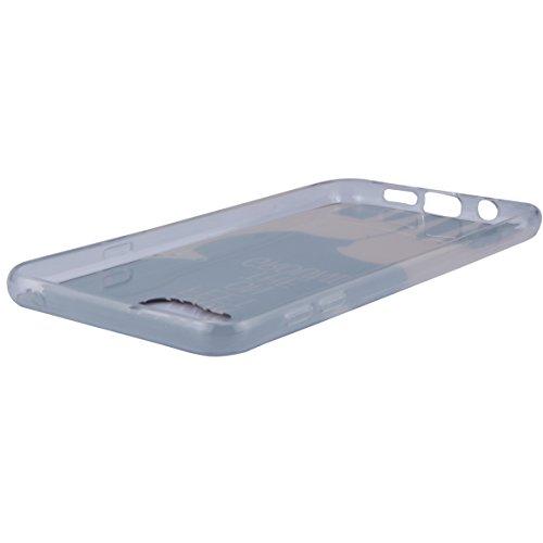Galaxy A7 (2016) Hülle, SainCat Silikon Hülle Tasche Handyhülle [Kratzfeste, Scratch-Resistant] TPU Gel Bumper Case Weiches Transparentes Silikon Schutzhülle Crystal Kirstall Clear Case Durchsichtig M Zwei Rehe