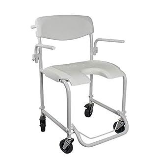 314INnCG6WL. SS324  - Silla de ruedas para baño | Ducha con reposabrazos | Reposapiés plegable | Invacare