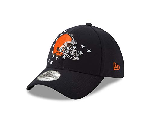 New Era Cleveland Browns 39thirty Stretch Cap Nfl19 Spotlight Navy - S-M (Browns Baseball-cap Cleveland)