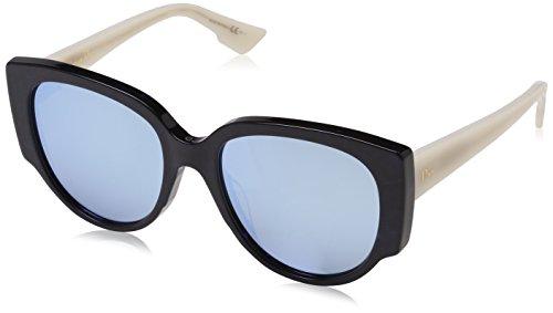 Dior Damen DIORNIGHT1 SK RJE Sonnenbrille, Prldtrrl Beige/Bluette Grey Speckled, 55
