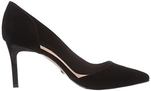 Buffalo H733-25 P1751A Damen Pumps Schwarz (Black 01)