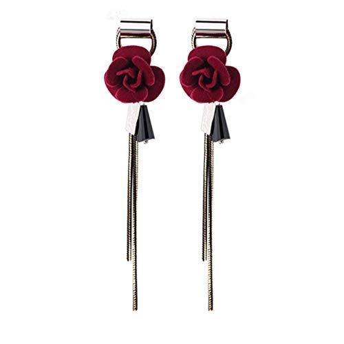 Ohrstecker von Wicemoon, Retro-Stil, Rosa, lange Ohrringe, modischer Schmuck, beliebte Ohrstecker für Mädchen