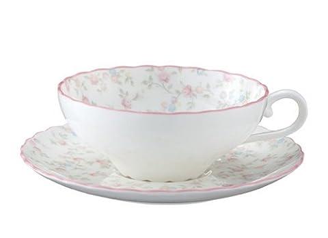 Bone china tea Cutie Rose porcelain bowl plate (1 customer)