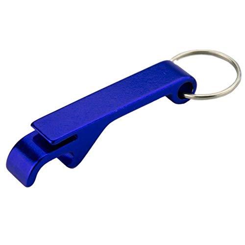 PONNMQ Key Shaped Flaschenöffner Schlüsselanhänger in Form Zink-Legierung Kupfer-Silber-Farbe Schlüsselanhänger Bier Flaschenöffner einzigartige kreative Geschenk, 5