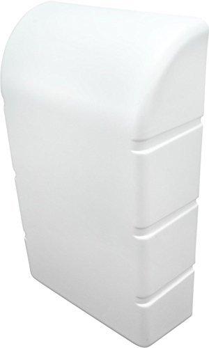 Wand Abdeckhaube Abdeckkappe für IRONFIX Klapp-Bügelbrett | Kunststoff weiß RAL 9010 | Möbelbeschläge von GedoTec®