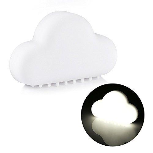 SUAVER Smart Wolke Nachtlicht,3 Modi auszuwählen, USB Aufladung Bewegungs Sensor LED Lampe,Wandleuchten,Nachttischlampe -