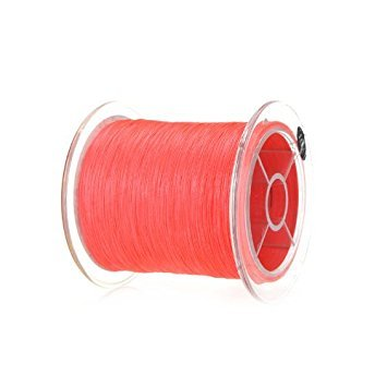 Docooler 300M Multifil PE Geflecht Angeln Linie, Material: Polymer-Polyethylen-Faser