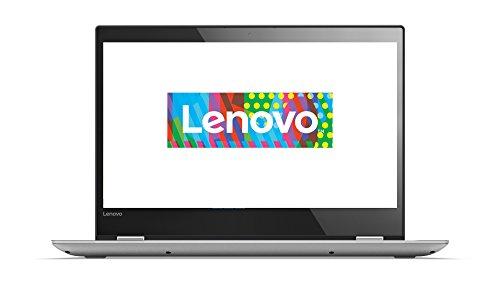 Lenovo Yoga 520 35,6 cm (14,0 Zoll Full HD IPS Touch) Slim Convertible Notebook (Intel Pentium 4415U, 4 GB RAM, 128 GB SSD, Intel UHD Grafik 610, Windows 10 Home) grau