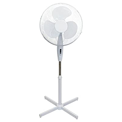 """Oypla Electrical 16"""" Oscillating Pedestal Electric Cooling Fan"""