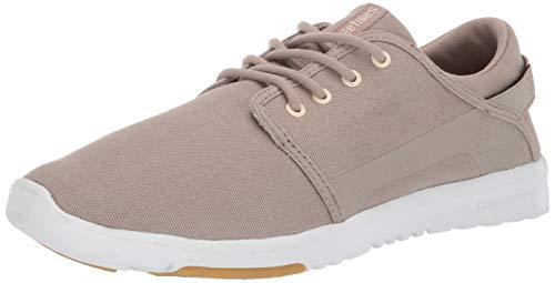 Etnies Herren Scout Sneaker, Beige (269-Tan/White/Gum 269), 44 EU(9.5 UK) - Niedrig Skateboard-schuhe