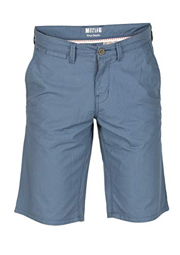 Mustang Herren Jeans Short Classic Chino, Größe:W 29, Farbe:Bering Sea (5315) - Levi ' Classic Shorts