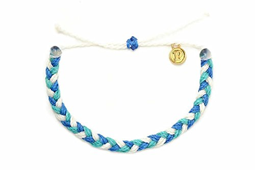 Pura Vida B.E.A.C.H Braided Bracelet - Marine Debris Solution - Handcrafted Charity Collection Bracelet (Collection Authentic Womens)