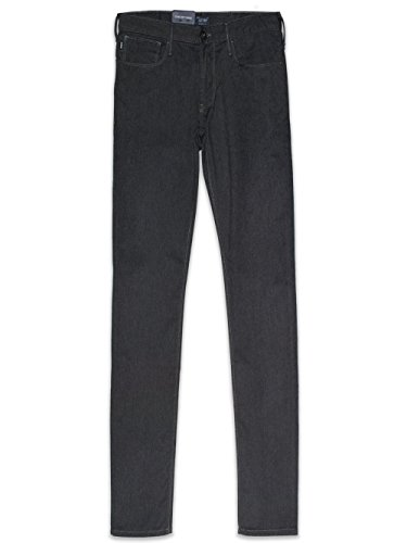 Armani jeans slim fit pantaloni grigio scuro j06 36x34