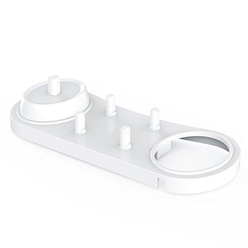 Portaspazzolino Poketech per spazzolini elettrici Oral-B Bianco