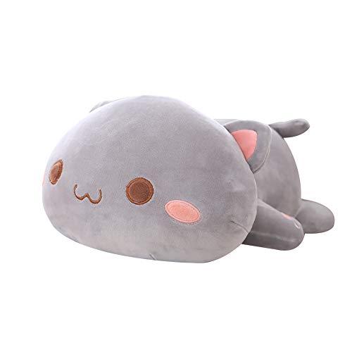 TLfyajJ Kawaii liegend katze tier puppe plüsch rücken kissen kissen kinder spielzeug geschenk 3# 30cm -