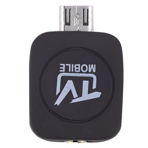 WOVELOT TV Stick Micro-USB Dvb-T Móvil Receptor Sintonizador TV con Antena para Teléfono Inteligente Android Tableta Pc HDTV