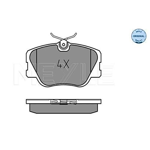 Meyle 025 209 4119 Kit de plaquettes de frein, frein à disque