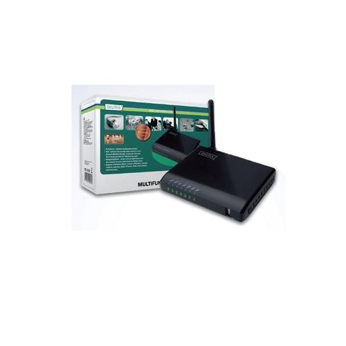 Digitus 4-Port USB 2.0 Wireless Multifunction Network -