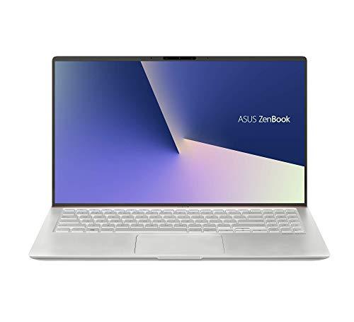 """ASUS ZenBook 15 UX533FD-A8107T - Portátil de 15.6"""" FHD (Intel Core i7-8565U, 16 GB RAM, NVIDIA GeForce GTX1050 2 GB, 512 GB SSD, Windows 10 Home) Metal Plata - Teclado QWERTY Español"""