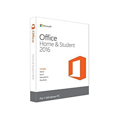 Microsoft Office 2016 Home & Student | 1 Device | PC | Download | Lifetime
