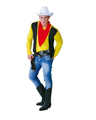 Pistolera Kostüm - Cooles Revolverhelden Herrenkostüm One Size