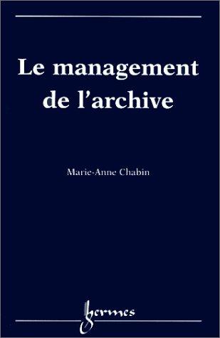 Management de l'archive