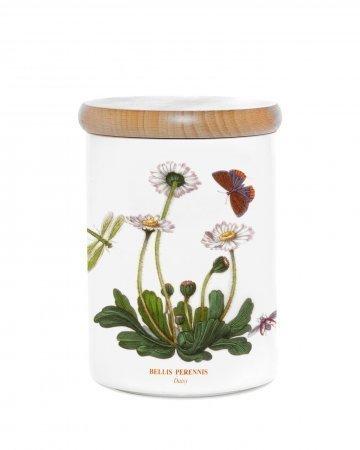 Portmeirion Vorratsdose, luftdicht, Mehrfarbig, 14 cm Botanic Garden Storage Jar