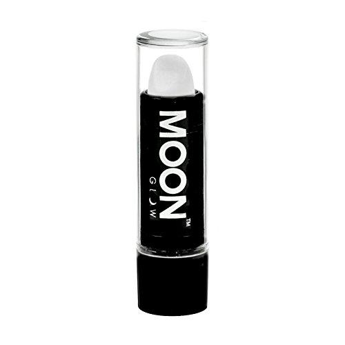 Moon Glow -Neon UV Lippenstift4.5gWeiß-ein spektakulär glühender Effekt bei UV- und Schwarzlicht!