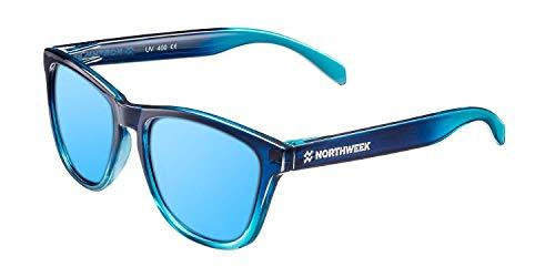 Northweek Gradiant Crystal - Gafas de Sol para Hombre y Mujer, Polarizadas, Azul Hielo