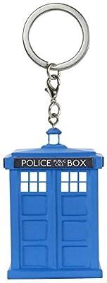 Doctor Who Tardis Porte-Clefs
