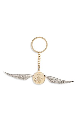 Harry Potter Gold and silver snitch key ring keyring