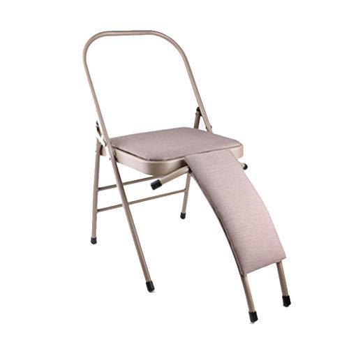 Klappbarer Yoga-Hocker, Yoga-Stuhl Mit Lendenwirbelstütze, Umgekehrter Gymnastikstuhl - Müdigkeit Lindern Und Den Körper Stärken, Eisenrohr + Rebound-Schwammpolster