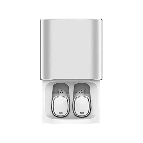Roful Auriculares Bluetooth QCY T1 Pro Touch Control Auriculares inalámbricos TWS Mini con Auriculares Manos Libres de micrófono y Caja de Carga 750mAh