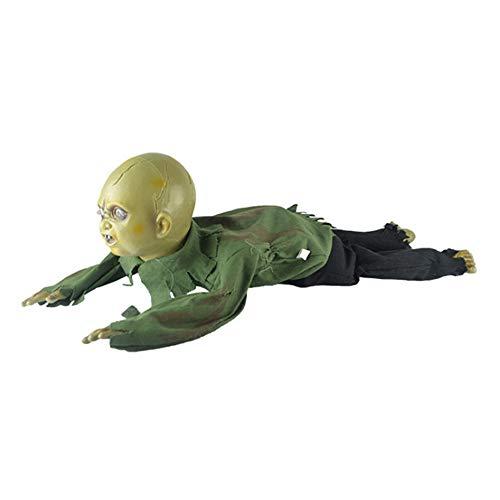 y-Climbing Zombies Krabbeln Horror Called Induktion Rep Dekoration für Halloween Spukhaus Requisite Dekoration ()