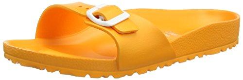 Birkenstock Classic Damen Madrid EVA Pantoletten, Neon Orange), 41 EU