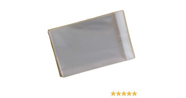 /cellophane Artiste /écran Sacs herm/étiques pour Taille 157/mm x 210/mm A5/ /40/Micron rabat de 30/mm/