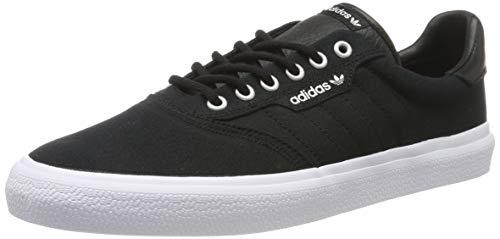 adidas 3Mc, Scarpe da Skateboard Unisex Adulto, Nero Core Black/Ftwr White/Silver Met, 44 2/3 EU