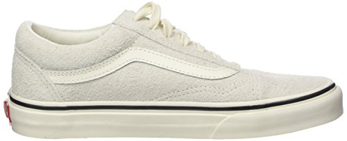 Vans Old Skool Suede, Baskets Mixte Adulte Ivoire (Fuzzy Suede/ Birch)