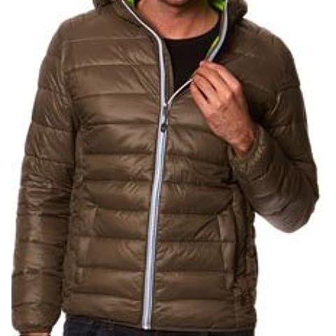 Peak Mountain - chaqueta delgada encapuchado hombre CENSEO