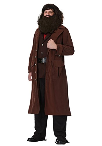 Deluxe Hagrid Adult Fancy dress costume ()