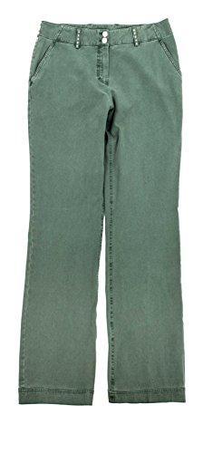 adonia mode Damen Jeans Stretch-Hose Khaki Gr.46