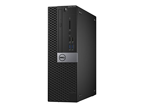 Dell Optiplex 5050 3.4 GHz i5 – 7500 SFF Schwarz PC Desktop-PC (3,4GHz, 7. Generation von Prozessoren Intel® Core ™ i5, 8 GB, 500 GB, DVD ± RW, Windows 10 Pro) (8gb Desktop 7 Dell Windows)