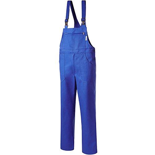 Pionier 190-61 Latzhose Classic Diagonalköper, Corn Flower Blue, Size 61