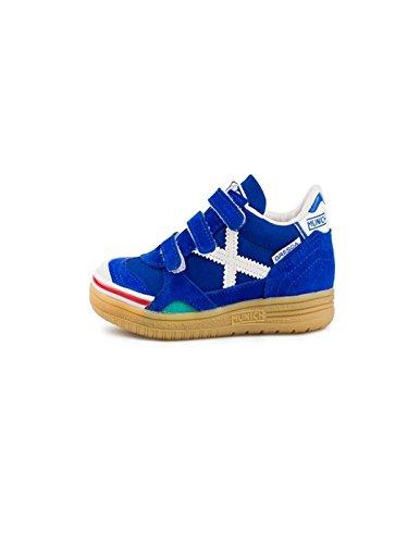 Munich Gresca VCO, Chaussures de Fitness Mixte enfant bleu