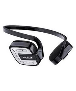 Nokia Bluetooth-Headset BH-601 Stereo mit Audio-Adater AD-47W N76; N